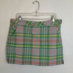 COLUMBIA |  Plaid Omni-Shield Skort